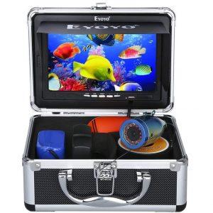 Eyoyo Portable 7 inch LCD Monitor Fish Finder Best Underwater Fishing Camera