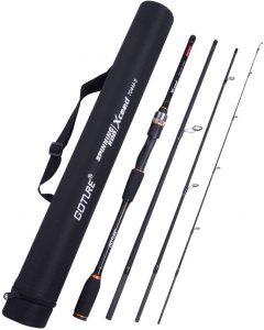 Goture Travel Fishing Rods 4Pcs